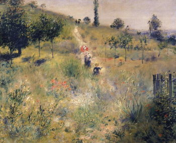 Reprodução do quadro  The Path through the Long Grass, c.1875