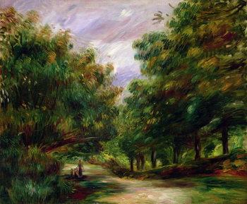 Reprodução do quadro  The road near Cagnes, 1905