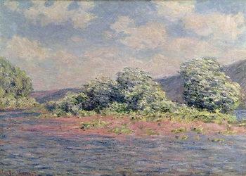 Reprodução do quadro  The Seine at Port-Villez, c.1890