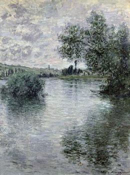 Reprodução do quadro  The Seine at Vetheuil, 1879