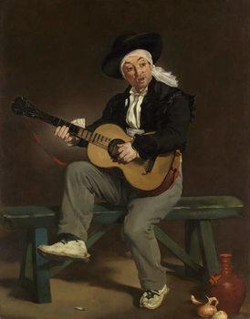 Reprodução do quadro  The Spanish Singer, 1860