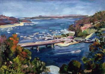 Reprodução do quadro The Sydney Split, 1995
