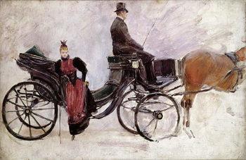 Reprodução do quadro  The Victoria, c.1895