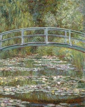 Reprodução do quadro The Water-Lily Pond, 1899