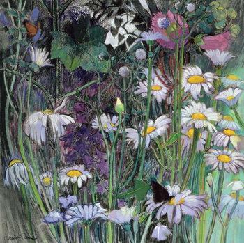 Reprodução do quadro  The White Garden