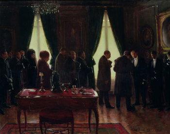 Reprodução do quadro  The Widower, 1910