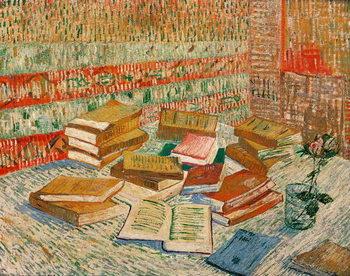 Reprodução do quadro The Yellow Books, 1887