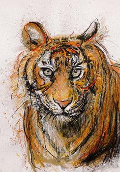 Reprodução do quadro Tiger, 2013,