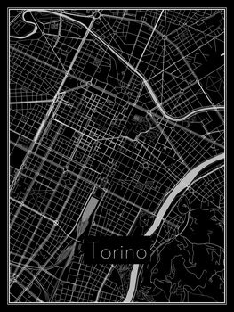Mapa de Torino