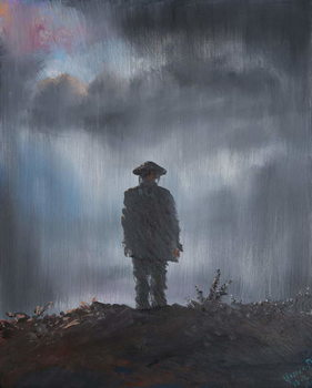 Reprodução do quadro  Unknown Soldier 1918, 2014,