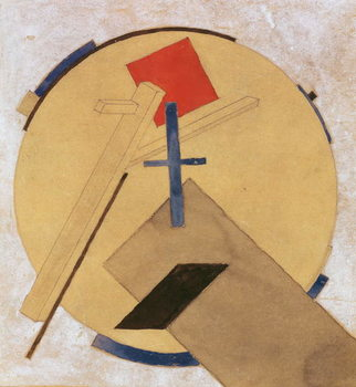 Reprodução do quadro  Untitled Proun Study, c.1919-20