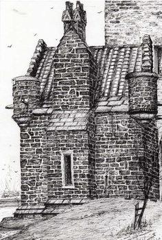 Reprodução do quadro Wallace monument the small house, 2007,