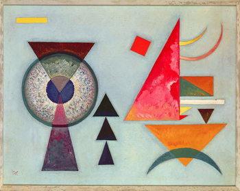 Reprodução do quadro  Weiches Hart (Soft Hard) 1927