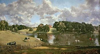 Reprodução do quadro  Wivenhoe Park, Essex, 1816
