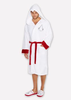 bathrobe Assasins Creed - White Robe Logo