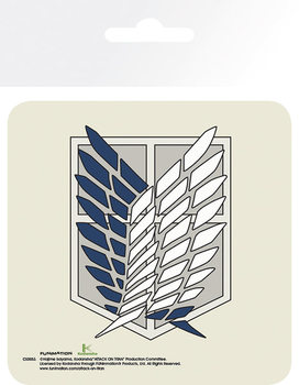 Attack On Titan (Shingeki no kyojin) - Badge Dessous de Verre