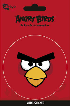 Autocolantes Angry Birds - Red Bird