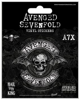 Autocolantes Avenged Sevenfold - Deathbat