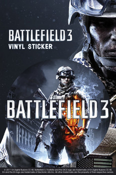 Autocolantes Battlefield 3 – limited edition