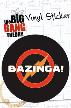 Autocolantes  BIG BANG THEORY – bazinga