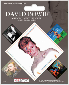 Autocolantes  David Bowie - Album Covers
