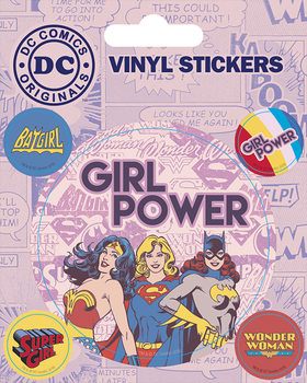 Autocolantes DC Comics - Girl Power