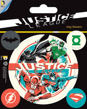 Autocolantes  DC Comics - Justice League