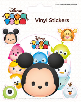 Autocolantes Disney Tsum Tsum - Faces