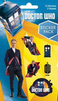 Autocolantes Doctor Who - Mix