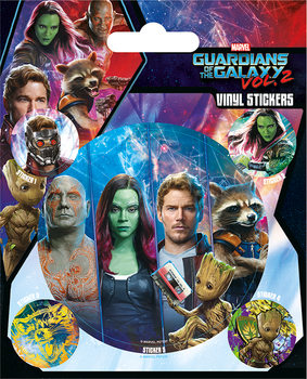 Autocolantes  Guardians of the Galaxy Vol. 2 - Team