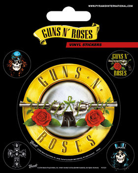 Autocolantes Guns N' Roses - Bullet Logo