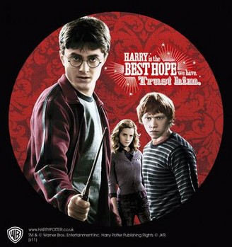 Autocolantes  HARRY POTTER – trio