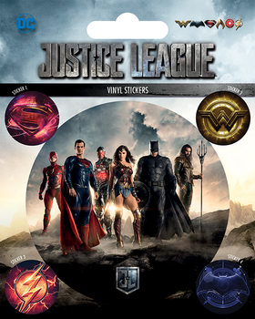 Autocolantes Justice League Movie