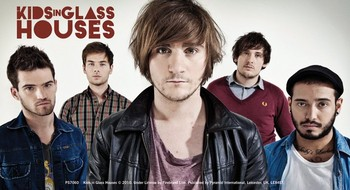 Autocolantes  KIDS IN GLASS HOUSES – band