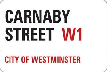 Autocolantes LONDON - carnaby street