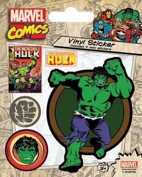 Autocolantes  Marvel Comics - Hulk Retro