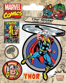 Autocolantes Marvel Comics - Thor Retro