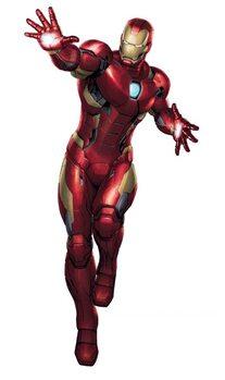 Autocolante MAXI Marvel - Iron Man