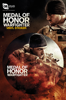 Autocolante MEDAL OF HONOR - sniper