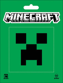 Autocolantes Minecraft - creeper