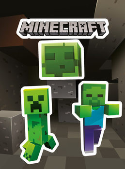 Autocolantes Minecraft - Creepers