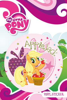 Autocolantes MY LITTLE PONY - applejack