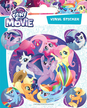 Autocolantes  My Little Pony Movie - Sea Ponies