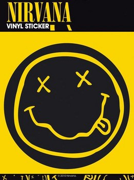 Autocolantes NIRVANA SMILEY