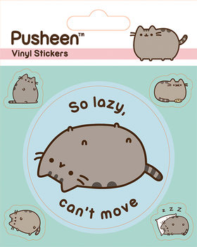 Autocolantes  Pusheen - Lazy