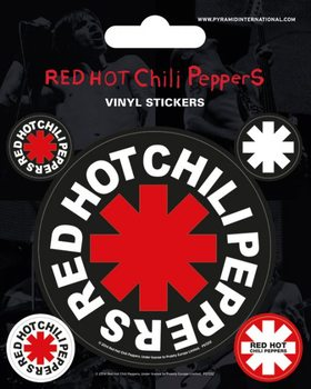 Autocolantes Red Hot Chili Peppers