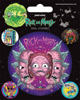 Autocolantes Rick and Morty - Psychedelic Visions