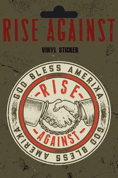 Autocolantes  Rise Against - Shaking Hands