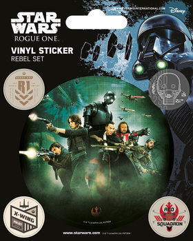 Autocolantes Rogue One: Star Wars Story - Rebel