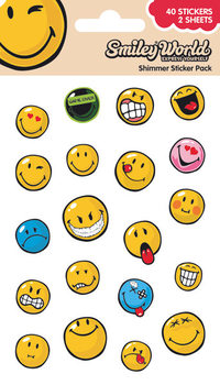 Autocolantes Smiley - Expressions (Shimmer)